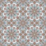 Naadloos kleurenpatroon met geometrisch patroon Stock Afbeeldingen