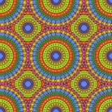 Naadloos kleurrijk abstract patroon Royalty-vrije Stock Afbeelding