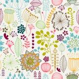 Naadloos kleurrijk patroon Stock Foto