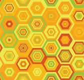 Naadloos kleurrijk vector geometrisch patroon Stock Fotografie