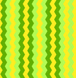 Naadloos kleurrijk vectorzigzagpatroon als achtergrond Vector Illustratie