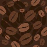 Naadloos koffiepatroon Royalty-vrije Stock Afbeeldingen