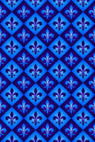 Naadloos koninklijk lilly patroon Stock Illustratie