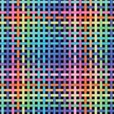 Naadloos kruisen-patroon Stock Afbeeldingen
