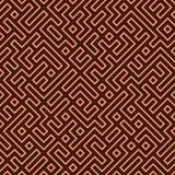 Naadloos Labyrint vector illustratie