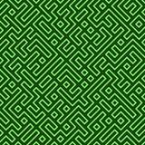 Naadloos Labyrint Stock Afbeeldingen