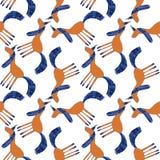 Naadloos leuk kleurrijk eenhoornpatroon Royalty-vrije Stock Afbeelding