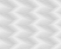 Naadloos lichtgrijs golvend patroon Eindeloze textuur Stock Foto's