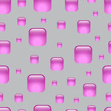Naadloos lilac abstract geometrisch patroon Stock Foto