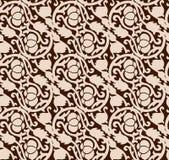 Naadloos luxueus chocoladepatroon Royalty-vrije Stock Afbeeldingen