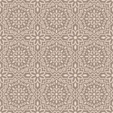 Naadloos mandalapatroon royalty-vrije illustratie