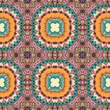 Naadloos meetkunde uitstekend patroon, etnische stijl Stock Fotografie
