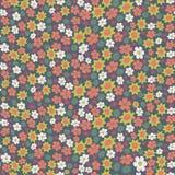 Naadloos met kleine bloemen Stock Afbeeldingen