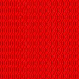 Naadloos met rode ornamenten Stock Afbeelding