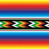 Naadloos Mexicaans patroon Royalty-vrije Stock Afbeeldingen