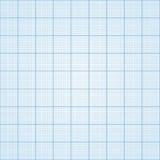 Naadloos millimeterpapier, Stock Afbeelding