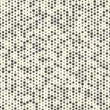 Naadloos Minimaal Cirkelpatroon Vector Zwart-wit Polkatextuur Royalty-vrije Stock Fotografie