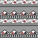 Naadloos modern geometrisch patroon van lijnen, zigzag, driehoeken vector illustratie