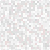 Naadloos Modern Patroon met Punten Stock Foto
