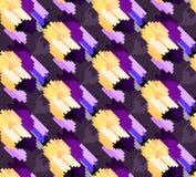 Naadloos modieus geometrisch patroon stock afbeeldingen