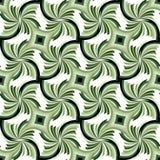 Naadloos Mooi Groen Geometrisch patroon Geschikt voor textiel, stof en verpakking Royalty-vrije Stock Foto