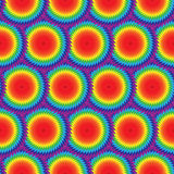 Naadloos Mooi Kleurrijk Geometrisch patroon Geschikt voor textiel, stof en verpakking Royalty-vrije Stock Afbeeldingen