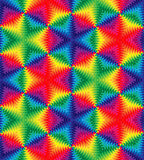 Naadloos Mooi Kleurrijk Golvenpatroon Zwart-wit Geometrische Abstracte Achtergrond Geschikt voor textiel, stof, die verpakken en Stock Foto's