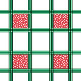 Naadloos Netpatroon met Witte Punten Royalty-vrije Stock Foto