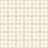 Naadloos Netpatroon Vector zwart-witte achtergrond Regula Stock Afbeelding