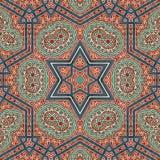 Naadloos ontwerp 020 van het khayameyapatroon Royalty-vrije Stock Fotografie