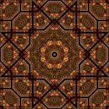 Naadloos ontwerp 025 van het khayameyapatroon Royalty-vrije Stock Fotografie
