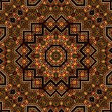 Naadloos ontwerp 026 van het khayameyapatroon Royalty-vrije Stock Fotografie
