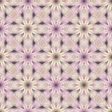 Naadloos Oosters geometrisch geel, roze ornament stock foto