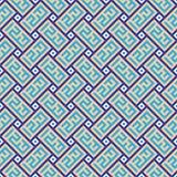 Naadloos oosters patroon royalty-vrije illustratie