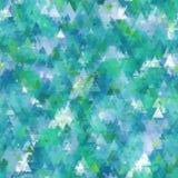 Naadloos organisch waterverf zacht gekleurd patroon als achtergrond in vector Stock Afbeeldingen