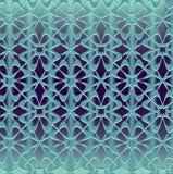 Naadloos ornament op de achtergrond van het gradiëntnetwerk Stock Afbeeldingen