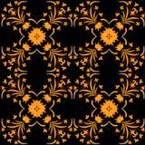 Naadloos ornament vectorpatroon voor ontwerp Stock Afbeelding