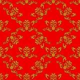 Naadloos ornament vectorpatroon voor ontwerp Royalty-vrije Stock Fotografie