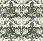 Naadloos Ornamentbehang Royalty-vrije Stock Foto's