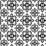 Naadloos ornamentbehang Stock Foto