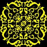 Naadloos ornamentbehang Royalty-vrije Stock Afbeelding