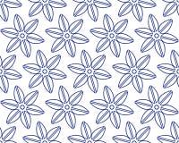 Naadloos ornamentpatroon Stock Afbeelding