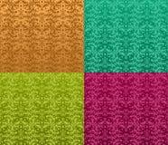 Naadloos overladen patroon Stock Foto