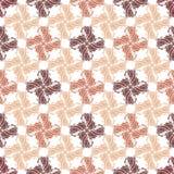 Naadloos Overladen Patroon (Vector) Stock Afbeelding