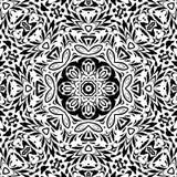 Naadloos overzichts bloemenpatroon Stock Afbeeldingen