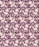 Naadloos Paisley met bloemontwerp stock illustratie