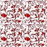 Naadloos Patroon 01 van Valentijnskaarten Stock Afbeeldingen