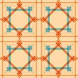 Naadloos patroon. Stock Foto
