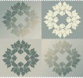Naadloos patroon Royalty-vrije Stock Afbeelding