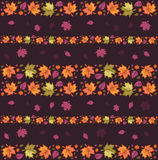 Naadloos Patroon 4 van de herfst Royalty-vrije Stock Foto